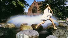 Tanner Fountain, Harvard University