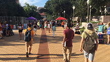 The University of Texas at Austin, Speedway Corridor and The East Mall