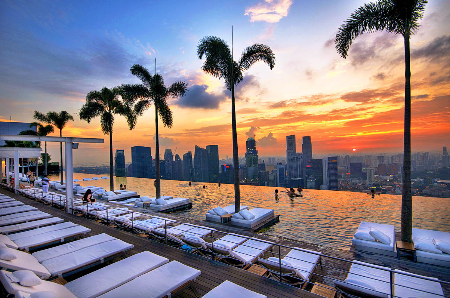 Marina bay sands integrated resort pwp landscape architecture - Singapore hotel piscina ...