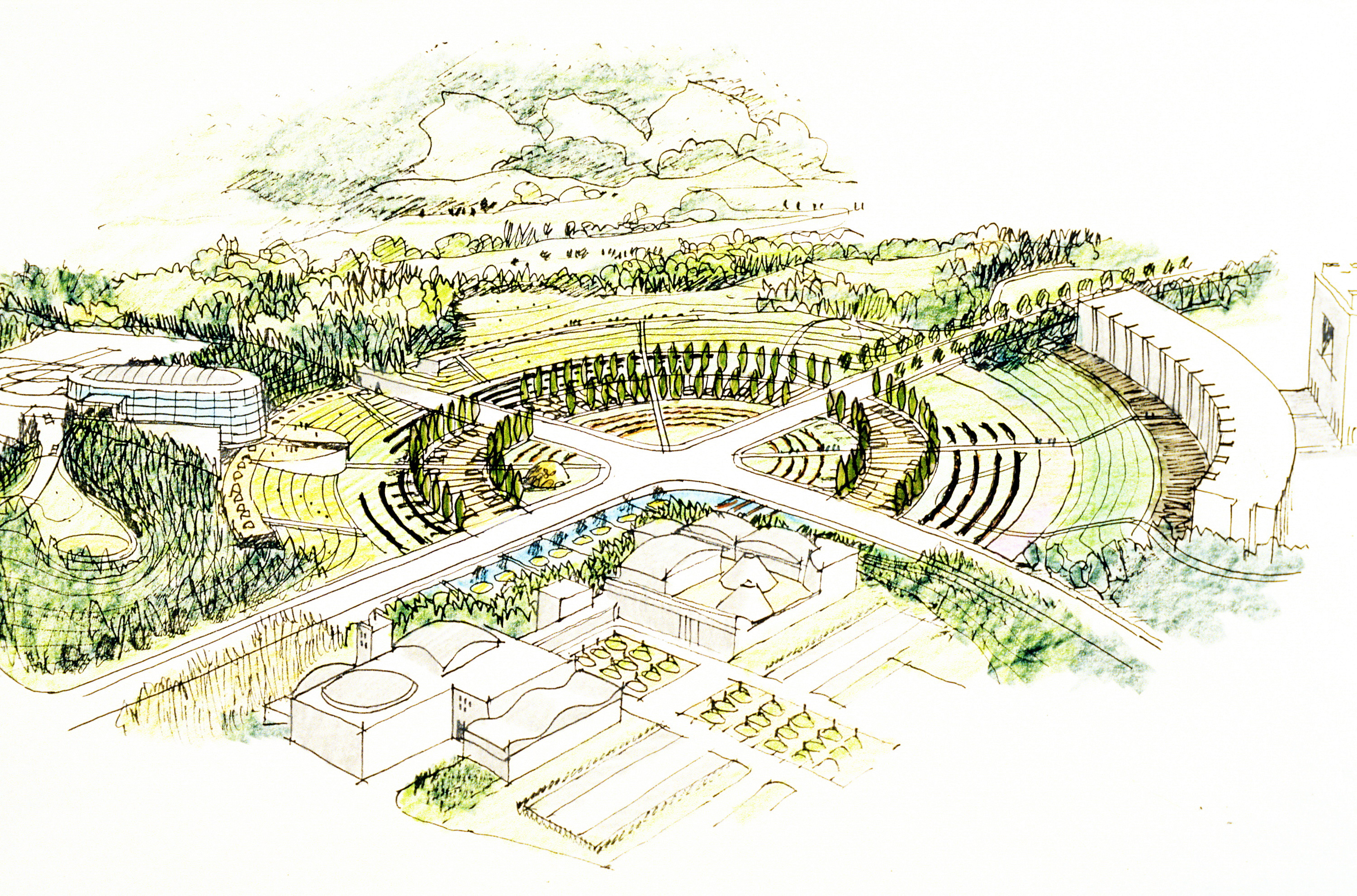 harima science garden city pwp landscape architecture