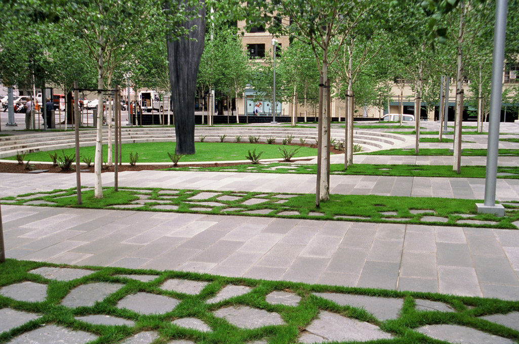 United states federal courthouse seattle pwp landscape for Landscaping rocks seattle
